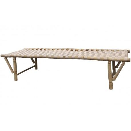 Łóżko Dzienne Ogrodowe Bambusowe Lyon B