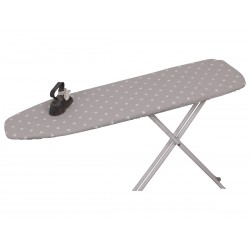Ironing table cover w.stars sand
