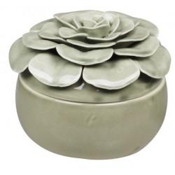 Ceramiczny Pojemnik Ozdobny Chic Antique Oliwkowy