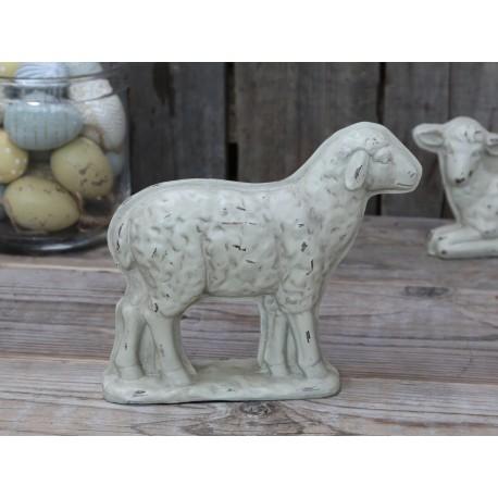 Owca Ozdobna Chic Antique Kremowa