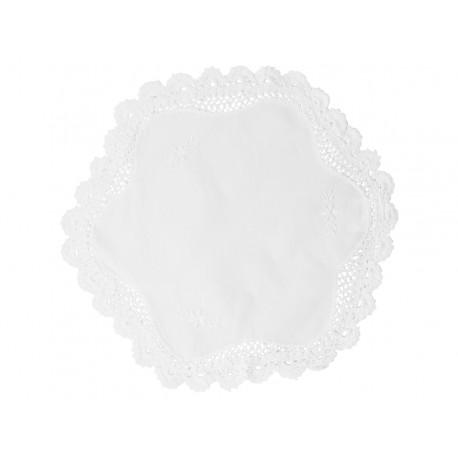 Biała Serweta Chic Antique z Koronką
