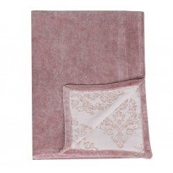French velvet blanket w. printing
