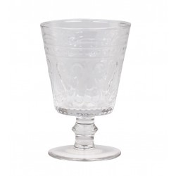 Antoinette Wine glass (S18) w. pattern