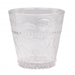 Antoinette Drinking Glass (S18)w.pattern
