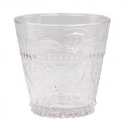 Antoinette Drinking Glass (S18)w.pattern