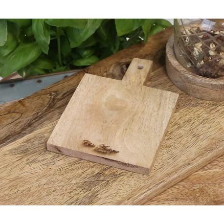 Deska Na Przekąski Chic Antique z Drewna Mango B
