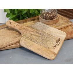Deska Na Przekąski Chic Antique z Drewna Mango A