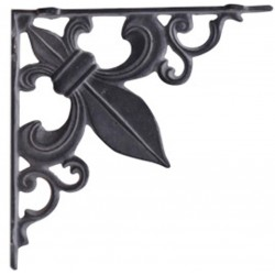 Shelf bracket French antique grey