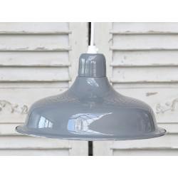 Lampa Metalowa Szara 2