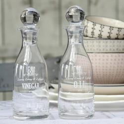 Butelki na Oliwę i Ocet Szklane