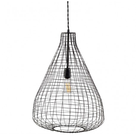 Lampa z Metalowej Siatki Chic Antique