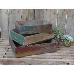 Old french Box (S19) set of 3