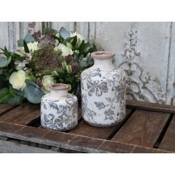 Melun Vase w. french pattern