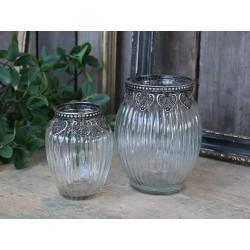 Vase w. silver decor