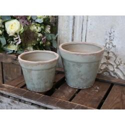 Martel Flowerpot w. roses