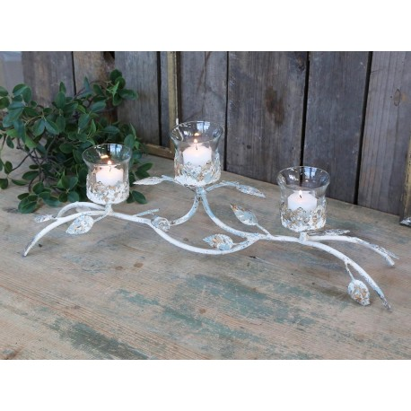 French Tealight holder for 3 candles