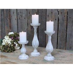 Candlestick f. pillar candles