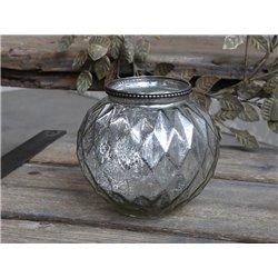 Vase w. pearl edge