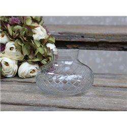 Vase w. grindings