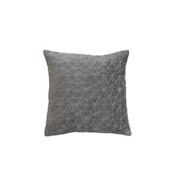 Moulin Cushion velour w pattern