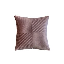 Moulin Cushion velour w. golden pattern