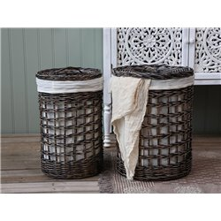 Laundry basket set of 2