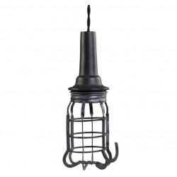 Factory work lamp w. net handmade