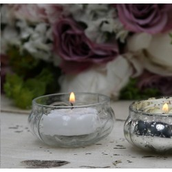 Tealight holder glass D6cm