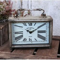Zegarek Stołowy Chic Antique Prostokątny
