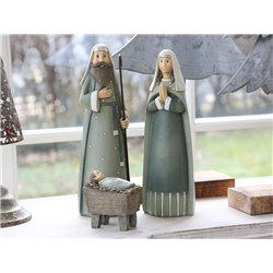 Maria & Joseph (X19) w. Jesus set of 3