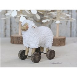 Sheep (X19) on wheels