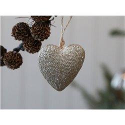 Heart (X19) w. glitter