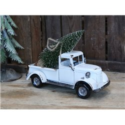 Vintage Car (X19) w. christmastree
