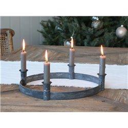 Advent candleholder(X19) f dinnercandles