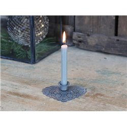 Candlestick heart (X19) f. taper candle