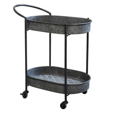 Metalowy Stolik Wózek Chic Antique