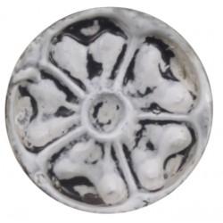 Knobs w. pattern white