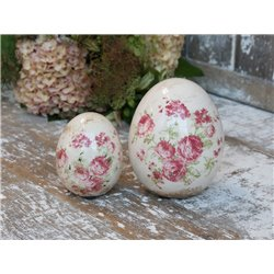 Vienne Egg (S20) w. flowers
