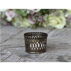 Tealight holder w. pattern