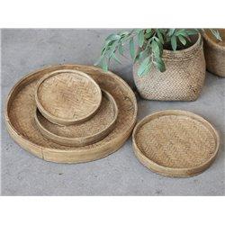 Corte Plate w. braided pattern