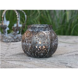 Vire old Tealight holder (S20)w. pattern