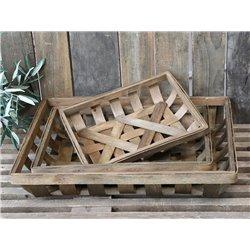 Basket braided