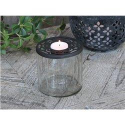 Tealight holder (S20) w. lid