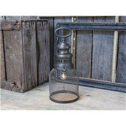 French stable Lantern incl. bulb/timer