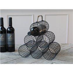 Wine rack w. handle