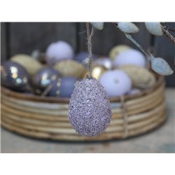 Egg (S20) with perles