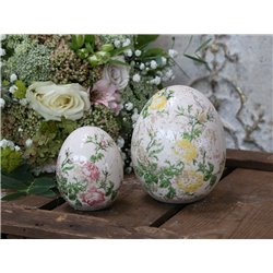 Toulouse Egg (S20) with roses