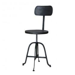 Metalowe Krzesło Industrialne Chic Antique Factory