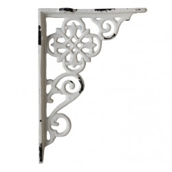 Shelf bracket w. french pattern