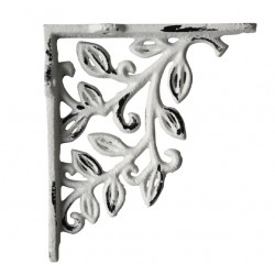 Shelfbracket w. flower decor